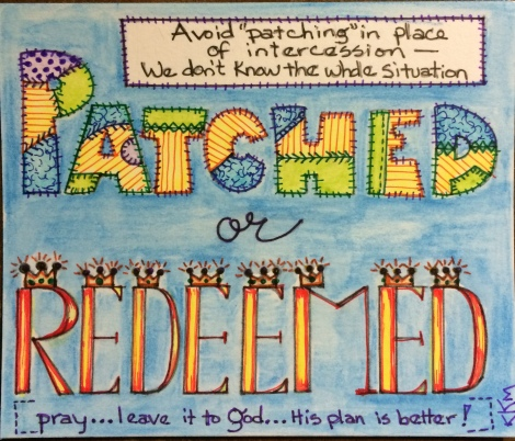 Do You Feel Patched or Redeemed?