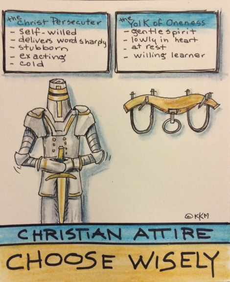 Is What You're Wearing Persecuting Christ?