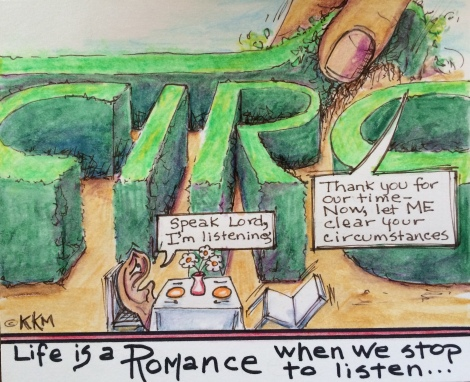 A Romance Story--Listening for God's Whispers of Love