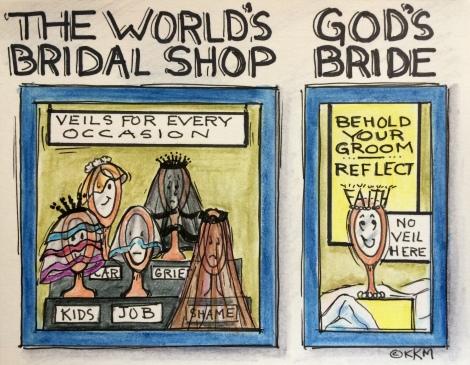 Your Choice....Veil or No Veil