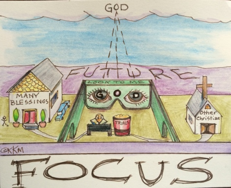 Get Your Blinders On--FOCUS