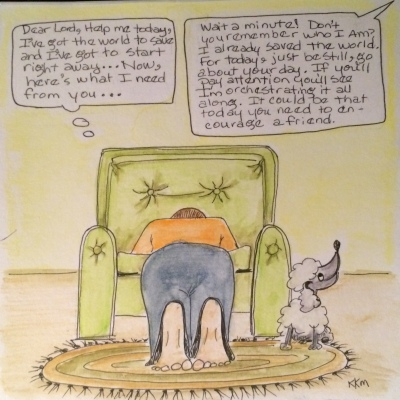 The dog knows who's in charge--do you?