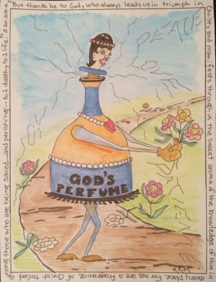 Not everyone enjoys even God's fragrance.